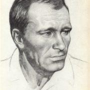 Writer Vasily Shukshin. 1973