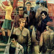 Yuri Mikhailovich Raksha (1937 - 1980). Our drilling. 1972 - 1975