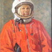 1974 portrait of Yuri Gagarin