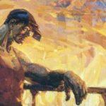 Soviet Russian artist Alexandr Burak 1921-1997