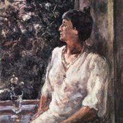 Anna Akhmatova. White Night. Leningrad. 1939-1940