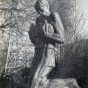 Artist Niko Pirosmanishvili monument. 1975. Tbilisi