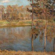 Barsky pond. 1957
