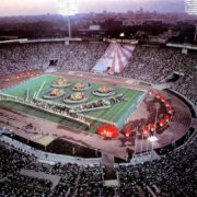 Closing ceremony performance. 1980, Moscow