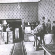 Corner of the museum - workshop of AS Golubkina in Moscow