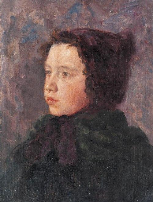 Excellent pupil Rita Cherkunova. 1953