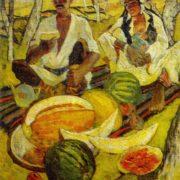 Harvest. 1975. Oil, canvas