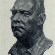 Hero of Socialist Labor, chairman of the collective farm A. Emelianov. Gypsum. 1961