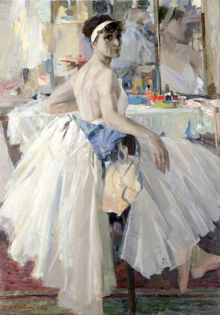 Honored Artist of the RSFSR ballerina L.Ratenko, 1967