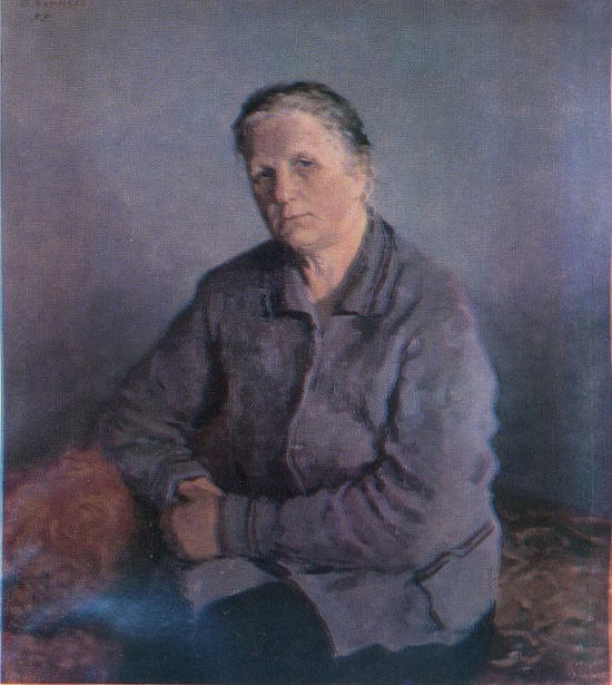 Mother's portrait. 1955