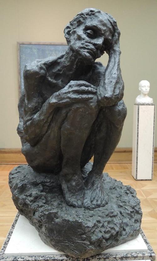 Oldness. 1898 Museum-workshop of A.S. Golubkina
