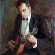 People's Artist of Mordovian ASSR L.I. Voinov, 1950