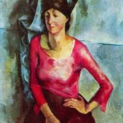 Portrait of E.T. Barkova. 1921