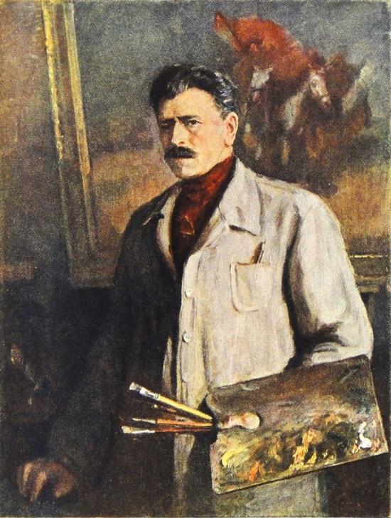 Portrait of Mitrofan Grekov
