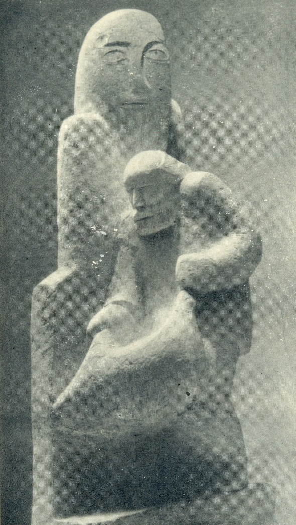 Sacrifice to the gods. Gypsum, 1934
