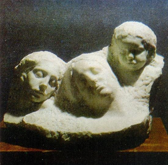Sleeping. 1912. Marble