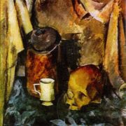 Still life with scull. 1924