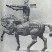 The project of the monument to the founder of the Bulgarian state Khan Asparuh