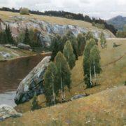 The river Kamenka. 1981