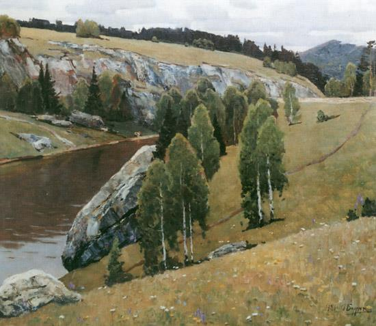The river Kamenka. 1981