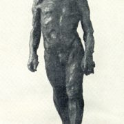 The walking man. 1903. Bronze (cast of 1936)
