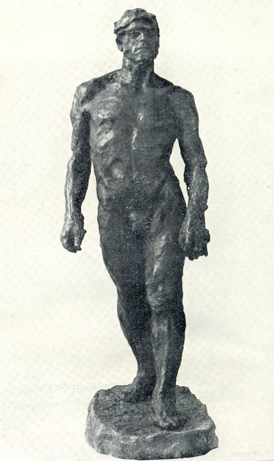 The walking man. 1903. Bronze (cast of 1936)