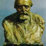 V.G. Chertkov. 1926. Bronze (cast of 1947)