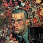Soviet artist Vladimir Mayakovsky