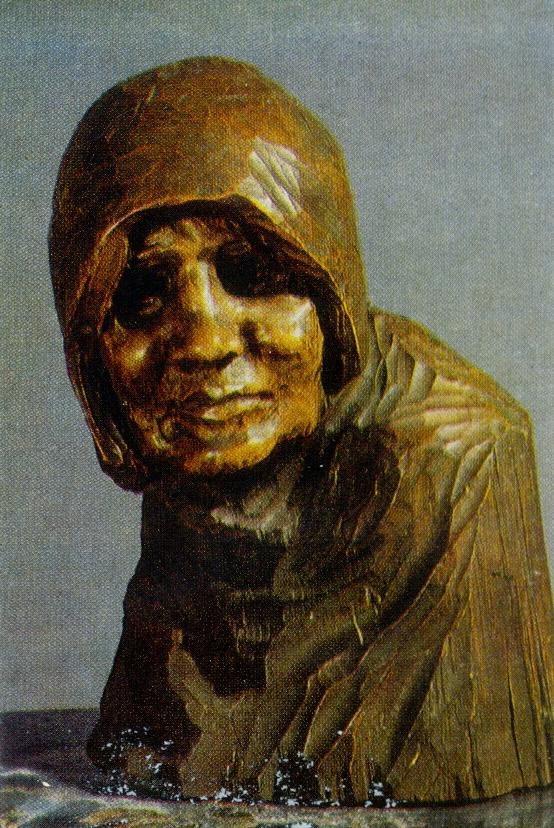 Wanderer. 1902. Wood