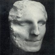 Woman's head (mask). 1902. Marble