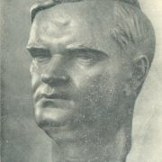 Writer Wenzlov. Bronze. 1954. Vilnius. State Art Museum