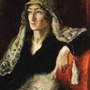 Yekaterina Barkova. 1921