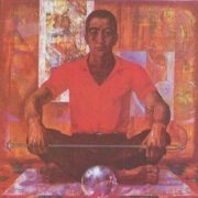 Mansur. Portrait of a Worker of communist labor glassblower of the plant 'Mikond' M. Umarbekov. Oil. 1978