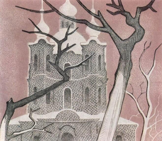 A church. The Queen of Spades