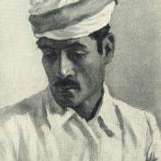 A man in a turban. 1957