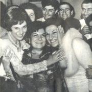Among colleagues (left) Zara Dolukhanova