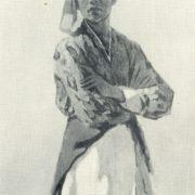 Dancer Azimjan Azizov. 1963