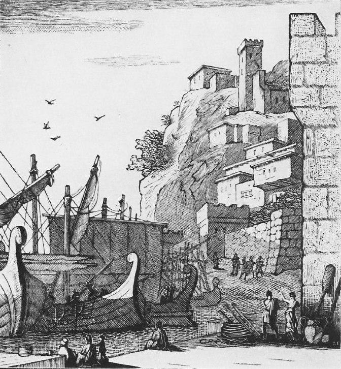 Homer's Odyssey (1958) illustration