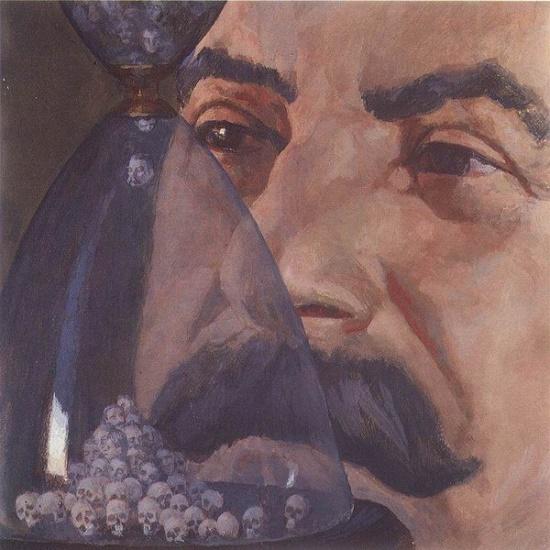 Soviet theater artist Pyotr Alekseyevich Belov