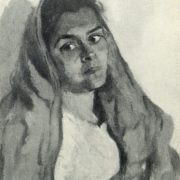 Indian woman. 1957