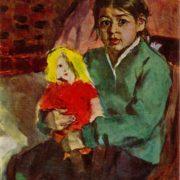 Niece Shahlo. 1959
