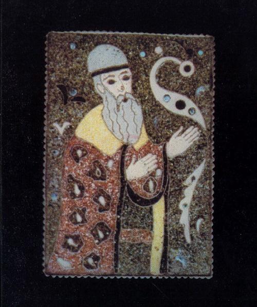 Soviet Dagestan goldsmith Manaba Magomedova (November 5, 1928, Kubachi - March 10, 2013, Makhachkala)