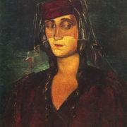 The artist's wife, Nina, 1940