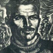 V.I. Kasiyan. Artyom. 1936. Woodcut
