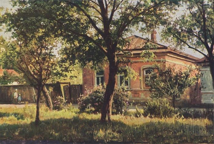 House of Anton Chekhov in Taganrog, 1976