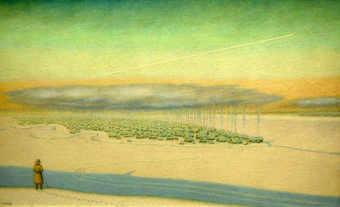 Siberia. 2005. Oil on canvas on hardboard