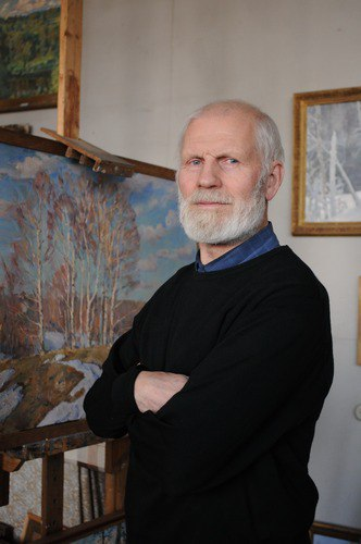 Soviet Russian artist Oleg Gadalov (29 August 1935 - 11 June 2016)