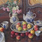 Still life with apples. 1997