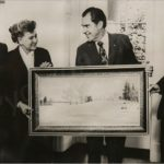 Soviet artist Boris Valentinovich Shcherbakov 1916-1995