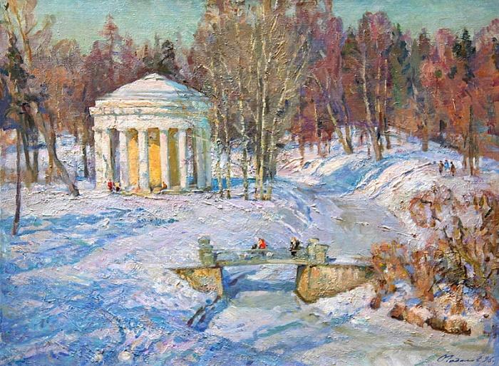 Winter landscape. 1985